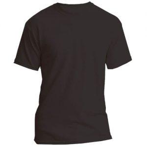 camiseta personalizada negra